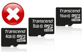 corrupt memory card recovery using