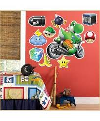Mario Kart Wii Yoshi Giant Wall Decal Partybell Com