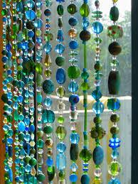 beaded curtain glass beaded suncatcher