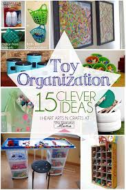 15 Clever Ways To Organize Toys The Realistic Mama Toy Organization Organization Kids Organization