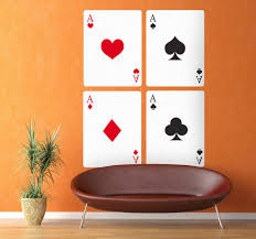 Playing Cards Wall Sticker Tenstickers