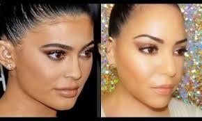 kylie jenner makeup tutorial golden