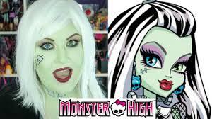 makeup monster high frankie saubhaya