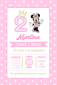 Invitacion Digital Minnie Hepburina