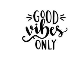 Good Vibes Only Inspiration Vinyl Wall Decal Decor Sticker Motivation Quote 4 Ebay