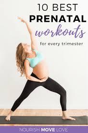 best prenatal pregnancy workouts