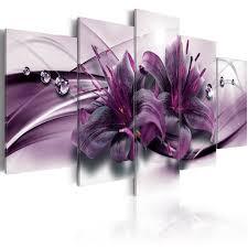 hot 9b1aa modern purple flowers
