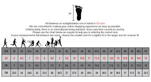 Image result for sample shoe size conversion chart png