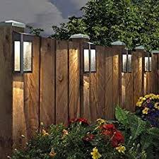 20 Best Solar Fence Post Lights 2019 Reviews Solar Power Nerd Backyard Lighting Solar Fence Lights Backyard Fences