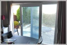 venetian blinds on sliding patio doors