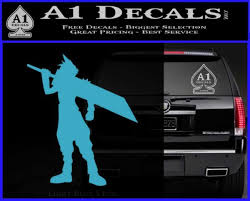 Final Fantasy Vii Cloud Strife Decal Sticker A1 Decals