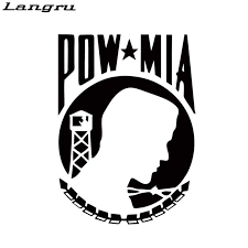 Langru Hot Sale New Style Pow Mia Vinyl Decal Sticker Car Creative Stickers Car Accessories Jdm Jdm Style Car Accessoriesvinyl Decals Stickers Aliexpress