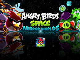 Out Now - Angry Birds Space: Mirror Worlds!