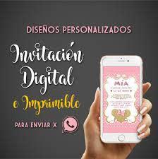 Invitacion Digital Virtual Whatsapp Cumple Infantil 15 Anos 199 00 En Mercado Libre