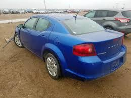 Salvage Vehicle Title 2014 Dodge Avenger Sedan 4d 2.4L For Sale in ...