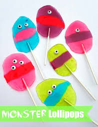 monster jolly rancher lollipops happy