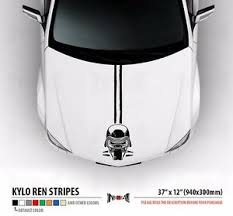 Kylo Ren First Order Star Wars Hood Stripes Car Vinyl Sticker Decal Ebay
