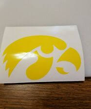 Iowa Hawkeye Decal Products For Sale Ebay