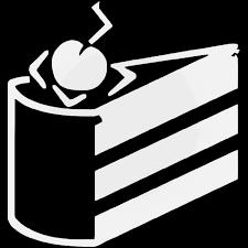 Portal Cake Aperture Gaming Vinyl Decal Sticker