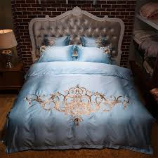 summer cool smooth silk bedding sets 4