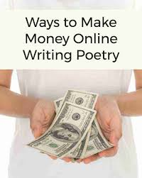 make money writing poetry