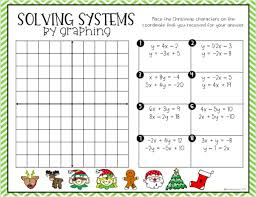 solving systems of equations by
