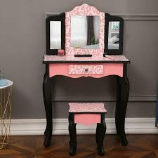 kids dressing table pretend play toy