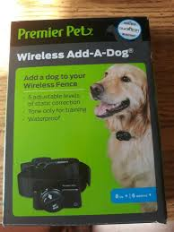Premier Pet Gif00 16348 Wireless Fence Add A Dog Collar For Sale Online Ebay