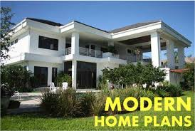 the modern house plan stylish living