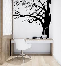 Large Spooky Bare Tree Branches Vinyl Wall Decal Sticker Ac122 Stickerbrand