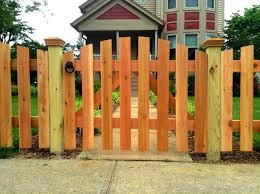 Reversed Scalloped Picket Picket Fence Design Ideas Low Level Fence Limited Privacy Fence Family Fence Fences For Children Pet Fence Design Picket Fence Fence