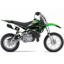 Factory Effex Kawasaki Klx110 Monster Energy Graphic Kits Mx South