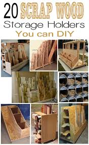 s wood storage holders you can diy