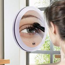 makeup mirror eyebrows tweezing 20x