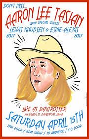 Aaron Lee Tasjan Vintage Concert Poster from Daytrotter, Apr 15 ...