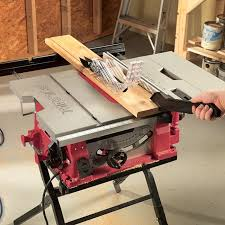 10 In Table Saw With Folding Stand