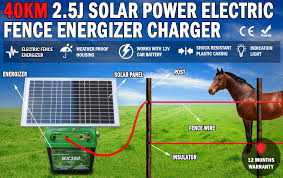Solar Electric What Is The Best Solar Electric Fence