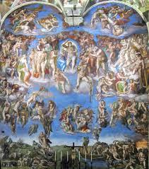 Il Giudizio Universale Affresco Di Michelangelo Nella Cappella Sistina  Sistine Chapel Photographie par Benita | Partage d'Images françaises Images