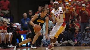 Adam Haluska knows how it feels to be on both sides of Iowa-Iowa State  men's basketball rivarly