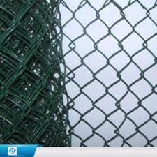 China Galvanized Diamond Wire Netting Chain Link Wire Mesh Fence China Pvc Chain Link Fence Gi Wire Fence