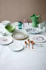 stylish ceramics tableware interior