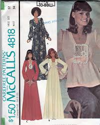 4818 1975 boho chic misses dress