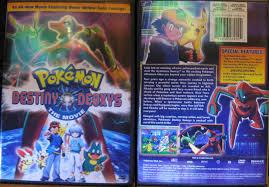Dvd Destiny Bdeoxys Movie Pokemon - Destiny Deoxys Photo Shared By  Benedikta6