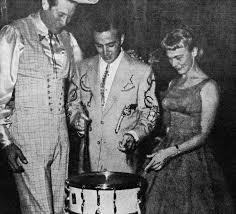 Hilda Young Faron S Wife | Hawkshaw Hawkins, Faron Young and Jean ...