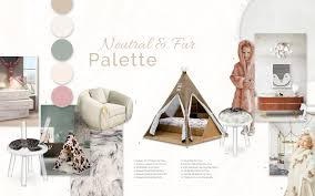 Kids Rooms Neutral Palette Trend Moodboards Trendbook