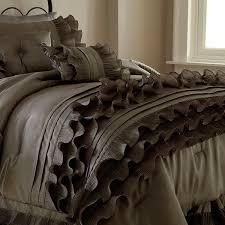 piece luxury embellished comforter set