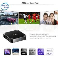 Android Smart TV BOX x96 Mini Quadcore 2Gb 16Gb