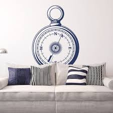 Compass Rose Wall Decals