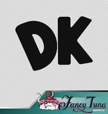 Vinyl Decal Donkey Kong Logo Etsy