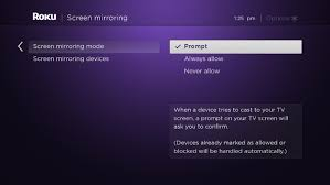 how do i use screen mirroring with my